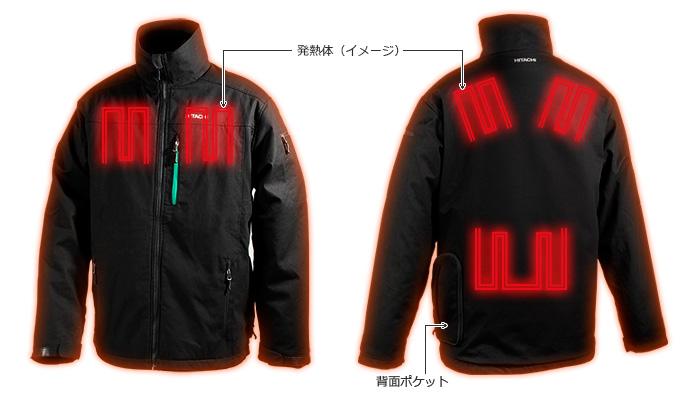 日立ウォームジャケットUJ18DSL③